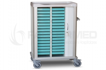MEDICATION CART FOR 32 TRAYS