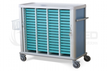 MEDICATION CART FOR 60 TRAYS