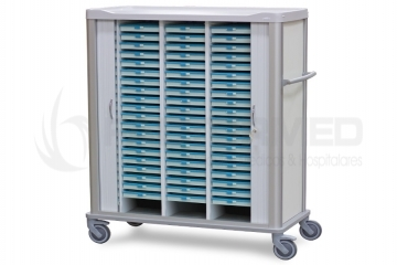 CART FOR THE TRANSPORTATION OF 60 TRAYS