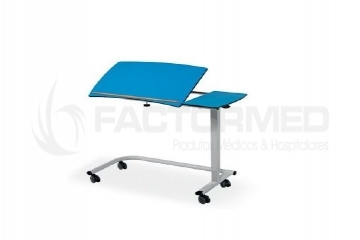 OVERBED TABLE WITH GAS SPRINGS