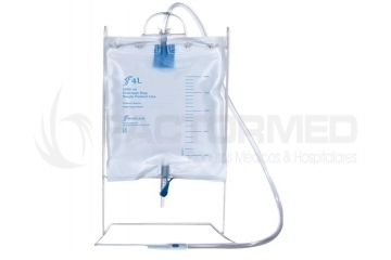 URINE BAG STERILE WITH TAP