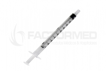 SYRINGES 3 PIECES FOR TUBERCULIN